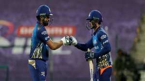 IPL 2020, MI vs KKR : क्विंटन डिकॉक (78)* की नाबाद अर्द्धशतकीय पारी से मुंबई ने केकेआर पर दर्ज की 8 विकेट से आसान जीत 2