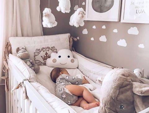la chambre de bebe nuage les plus