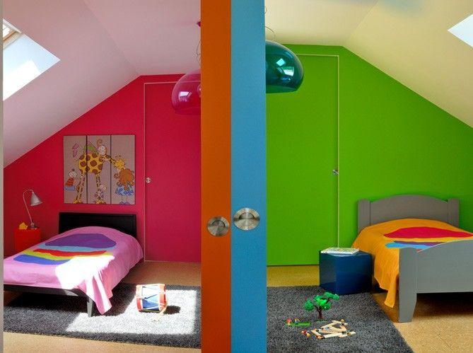 Une Chambre D39enfant Colore Elle Dcoration