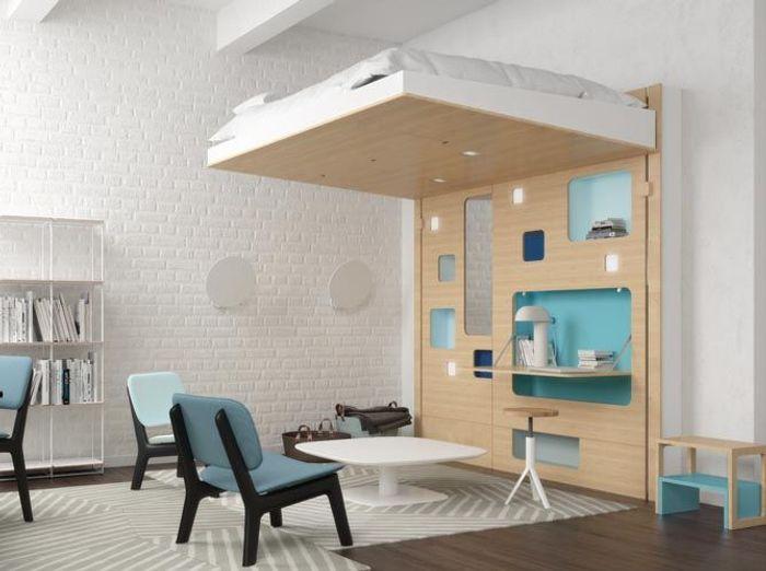 80 Lits Mezzanine Pour Gagner De La Place Elle Dcoration