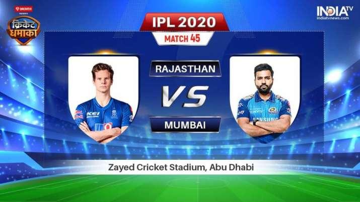 IPL 2020, Cricket Live Streaming, Where To Watch Live Rajasthan Royals Vs Mumbai Indians, IPL match