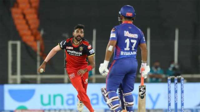 IPL 2021   RCB survive Rishabh Pant-Shimron Hetmyer scare