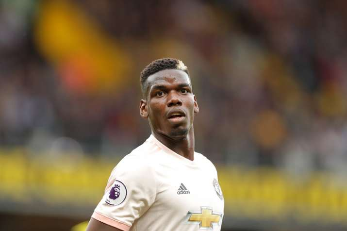 premium selection 69b45 34706 Paul Pogba stripped of Manchester United vice-captaincy by ...
