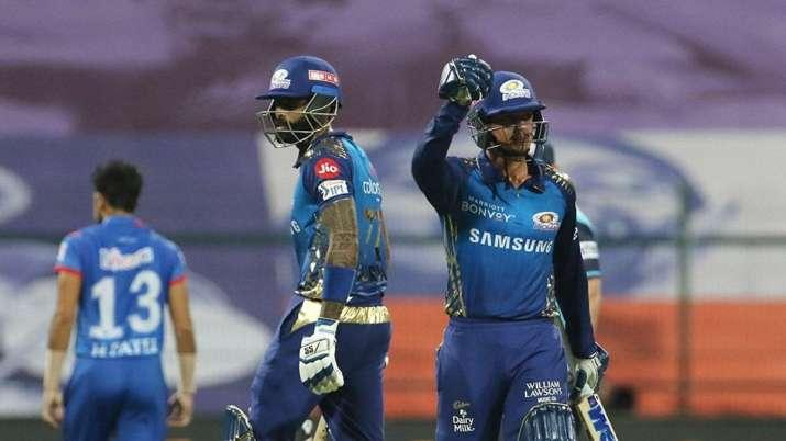 quinton de kock, suryakumar yadav, mumbai indians, mi, ipl 2020, indian premier league 2020