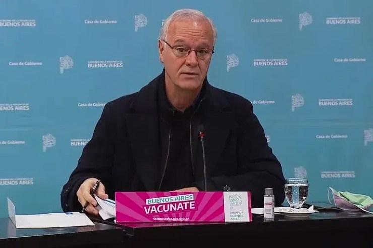 Daniel Gollan ocupó hasta ahora el cargo de ministro de Salud de la provincia