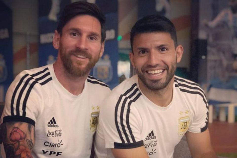 Kun Agüero y Lionel Messi no pudieron jugar juntos en Barcelona