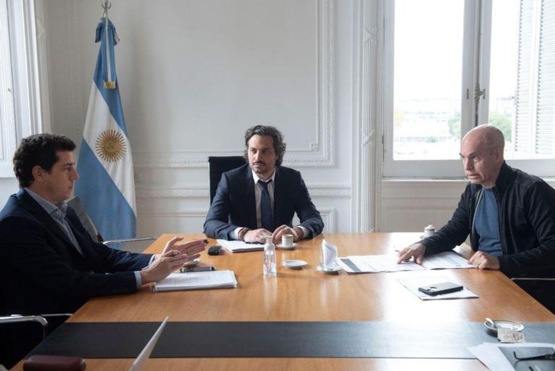 """El ministro del Interior Eduardo """"Wado"""" de Pedro se reunirá con el gobernador porteño y Martín Guzmán este martes"""