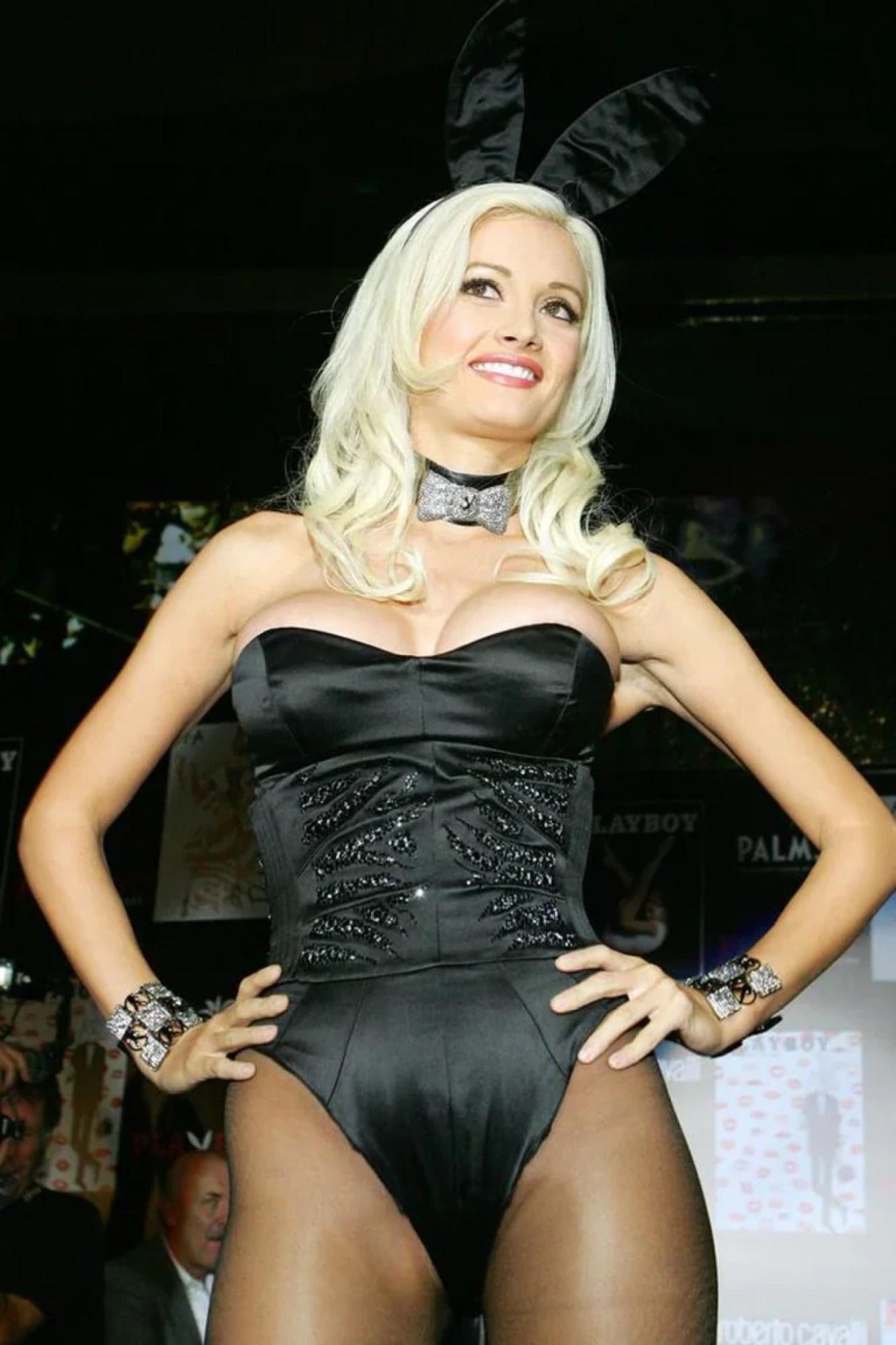 Holly Madison durante los años en los que fue conejita Playboy