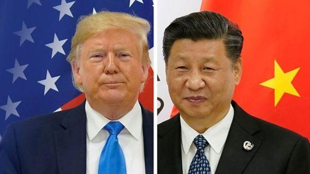 """El enfrentamiento entre Donald Trump y Xi Jinping llevó a algunos a decir que hay en marcha una """"guerra tecnológica""""."""