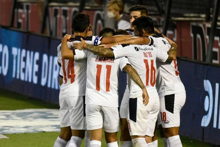 Independiente está habituándose a celebrar en este segundo ciclo de Julio Falcioni en el club.