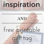 Mug Rug Inspiration And Free Gift Tag Resliced By Jordan