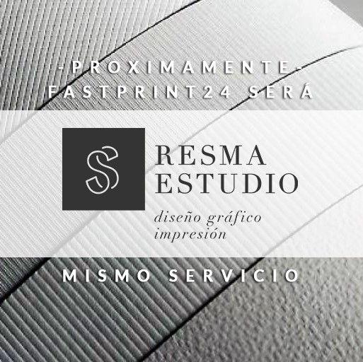 Fastprint24h.com ahora es Resma Estudio