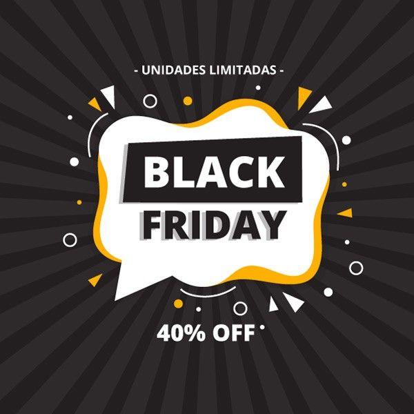 Promo Black Friday -40%