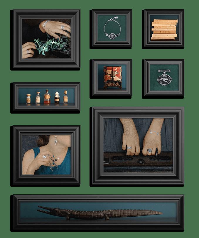 Ambiance Cabinet de Curiosités des bijoux Res Mirum
