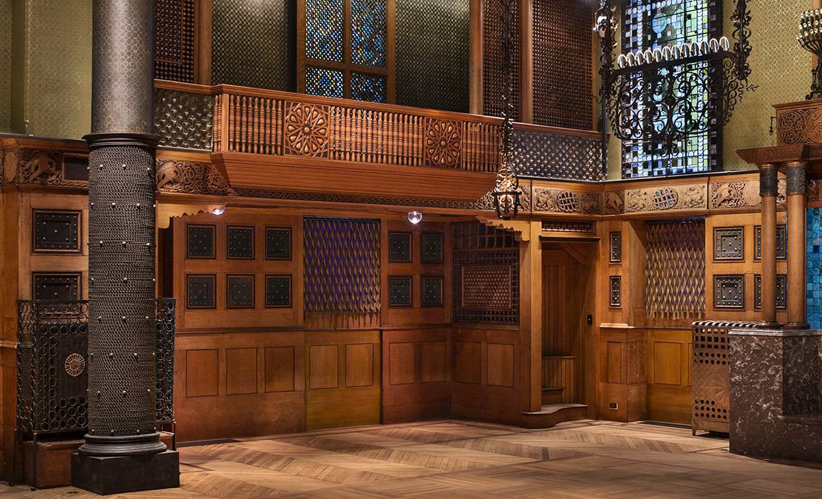 The Veterans Room By Louis Comfort Tiffany And Associated