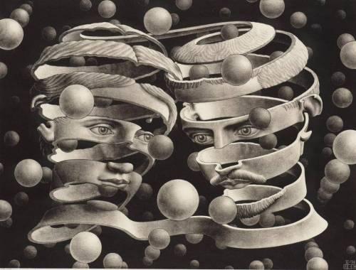 Cuadro Escher-maltratadores