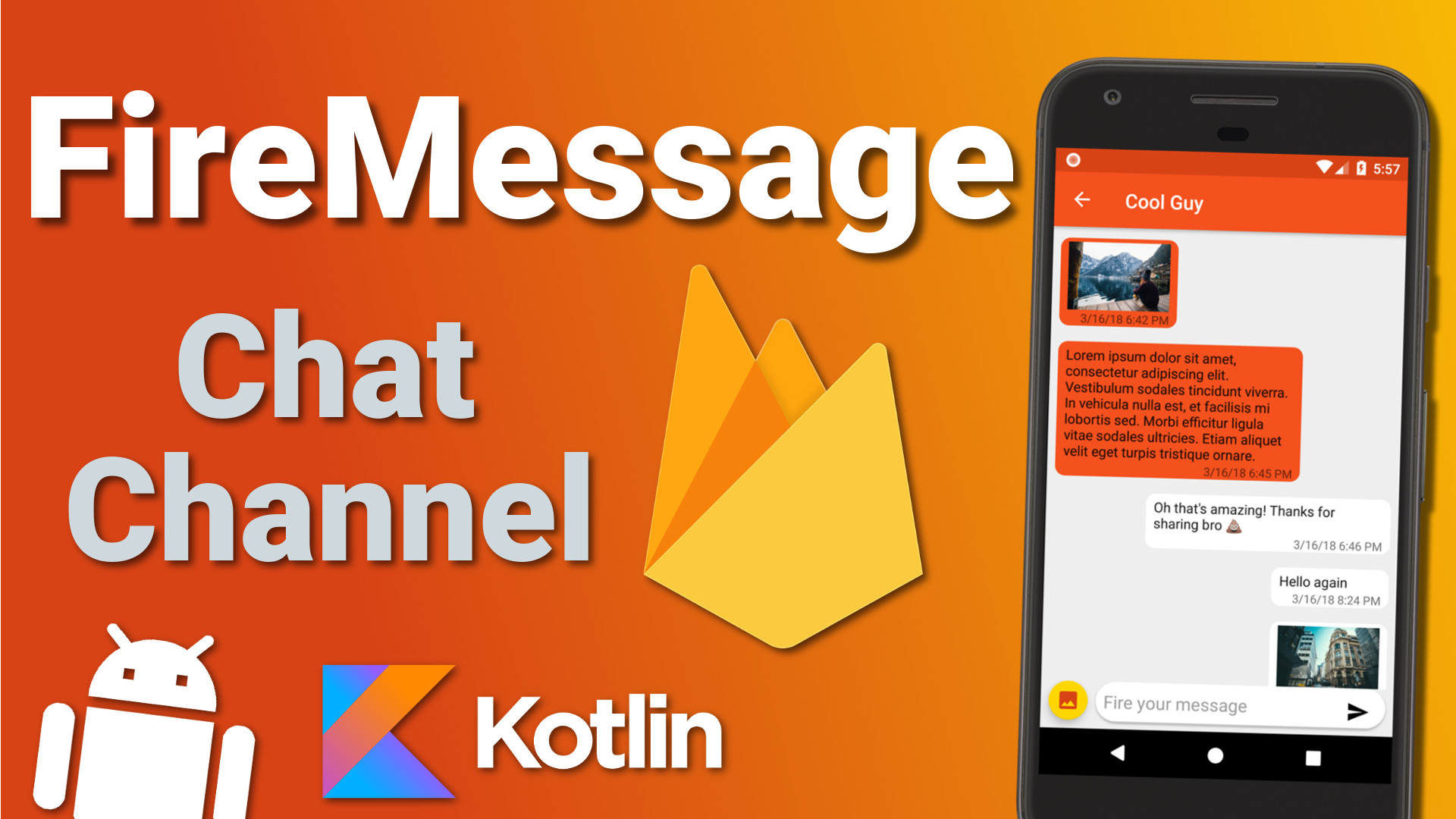Firebase Firestore Chat App: Creating a Chat Channel (Ep 4) – Kotlin Android Tutorial