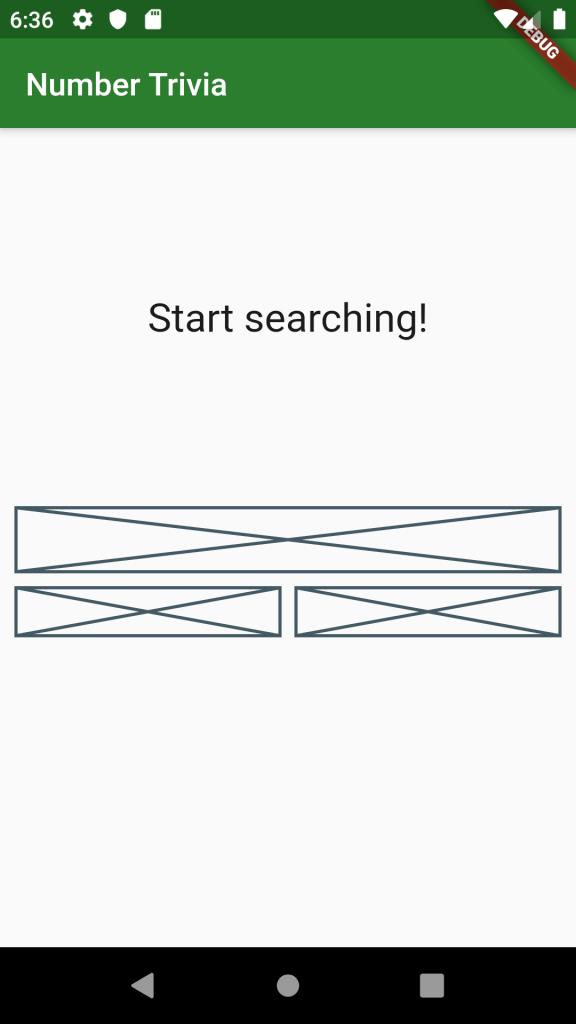 message display widget
