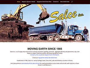 Salce Inc. Website