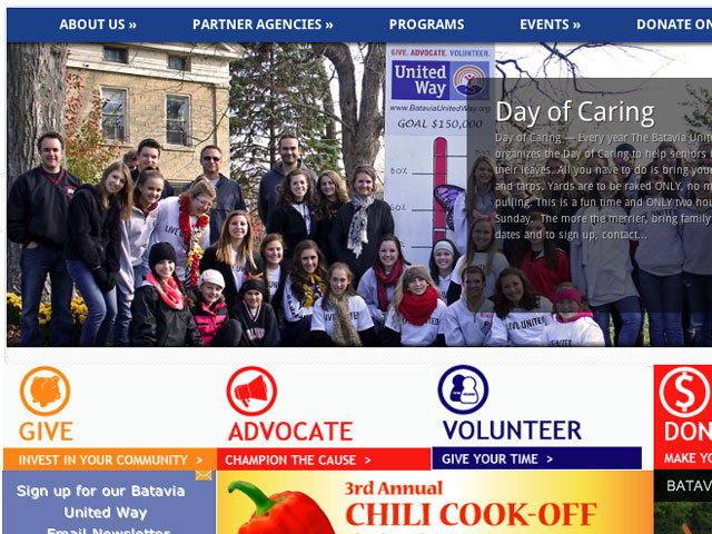Batavia United Way Website