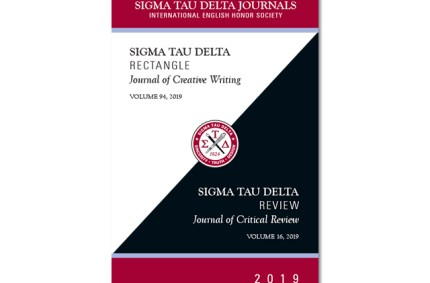 Sigma Tau Delta Journal Cover