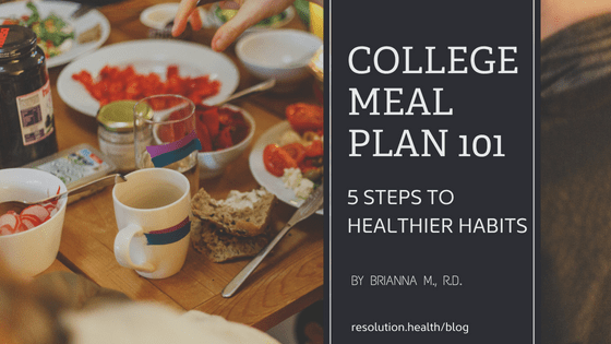 5 steps to healthier eating habits
