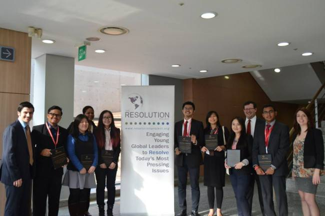 World Model United Nations 2015 SVC Winner Announcement