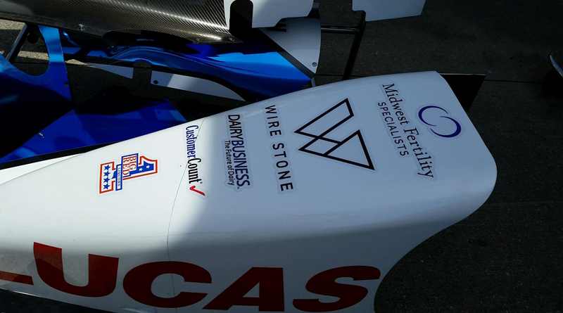 CustomerCount Announces Team One Cure Sponsorship at Indianapolis 500