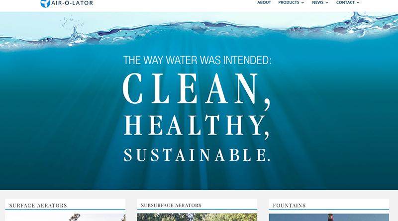 Leading Wastewater Management Company Unveils New Website
