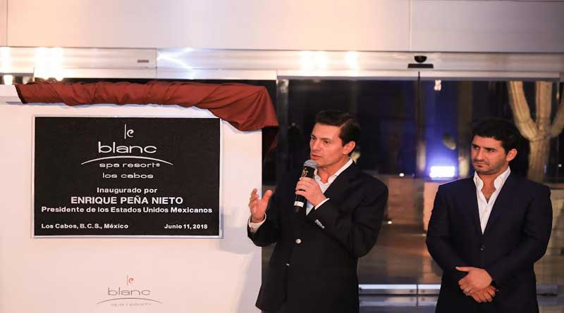 Le Blanc Spa Resort Los Cabos Celebrates Unveiling During Inaugural Ceremony With Mexican President, Enrique Pena Nieto