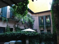 The Courtyard of a B&B