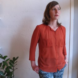 Luella Blouse by Dagg and Stacey at Velouria Ballard Seattle made in Toronto