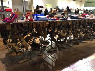 Shoe department at Selfridges