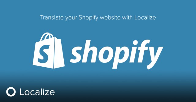 Translate your Shopify site with Localize 1