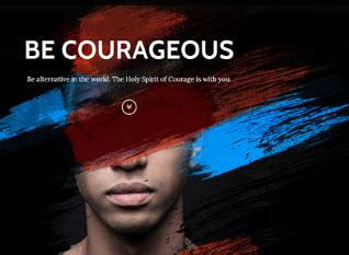 Pentecost 2017: Be Courageous scenario image