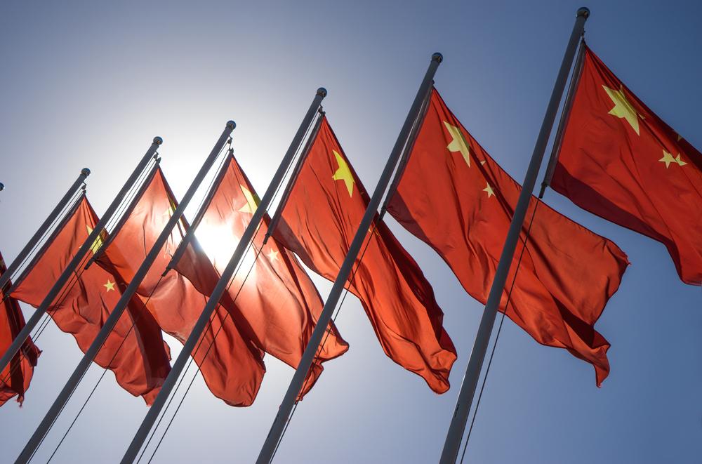 Banderas de China / crystal51, Shutterstock