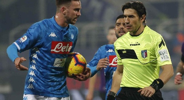 Moviola Napoli-Genoa, the Azzurri lack a penalty! Journal: Lerager touches high, for referee and Var is not intentional but ...