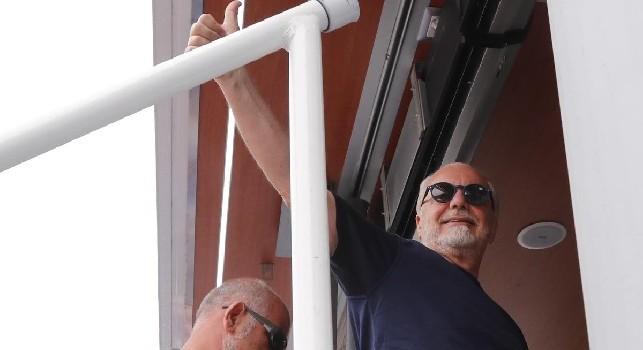Aurelio De Laurentiis, president of Naples