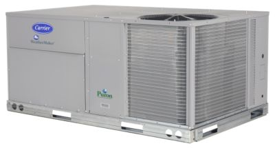 Carrier® WeatherMaster®  10 Ton Commercial Packaged Rooftop Gas Heat & Electric Cool Unit (208