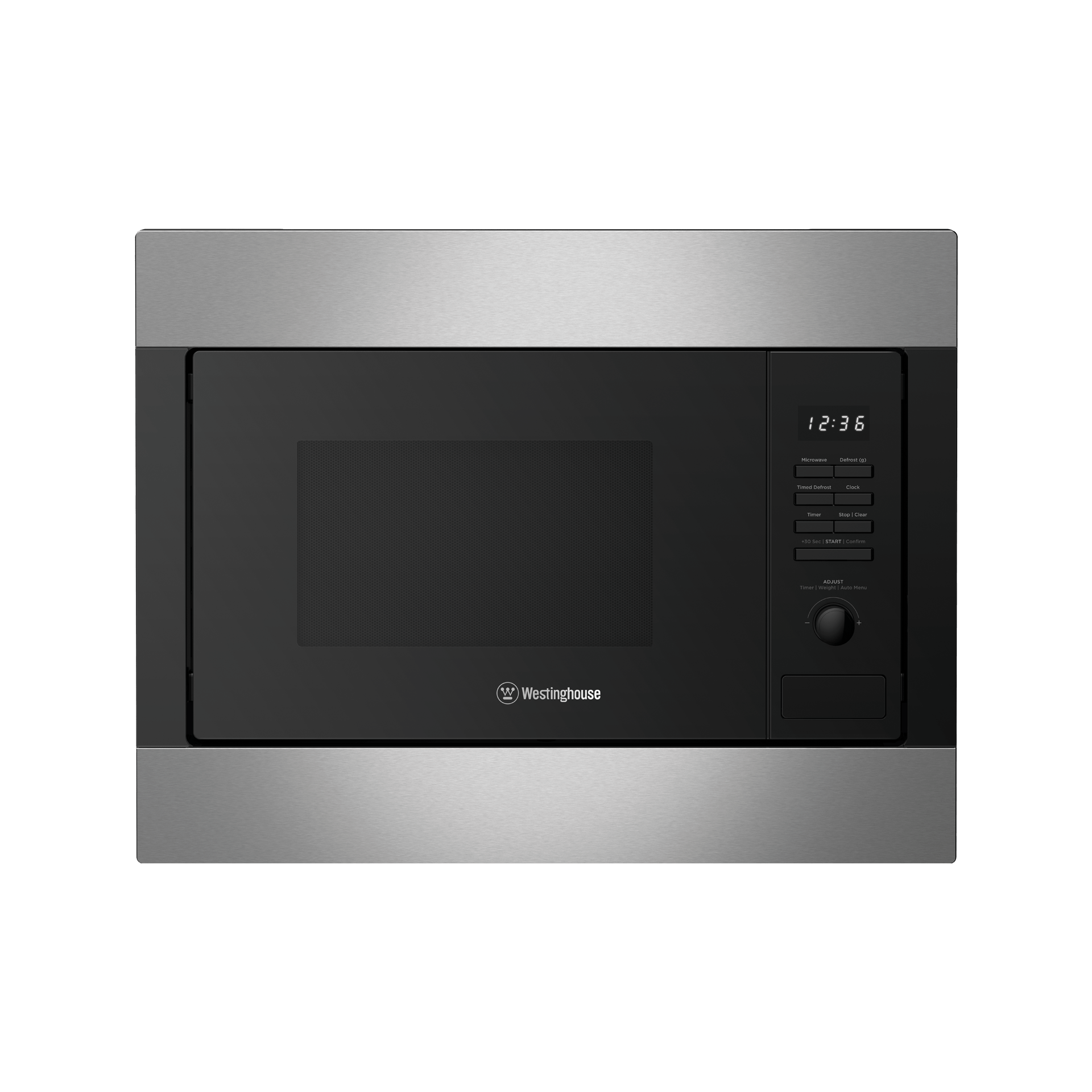 wmb2522sc 25l built in microwave stainless steel