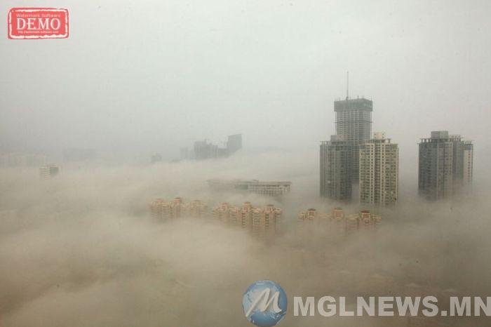 China, das wir noch nie gesehen haben China, das Problem der Umweltverschmutzung