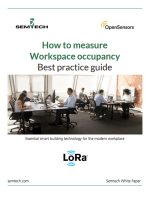 OpenSensors - How to measure workspace occupancy best practice guide
