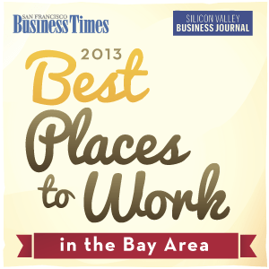 San Francisco Business Times 2013 Best Places to Work in the Bay Area