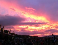 Enjoyed a beautiful sunset during the 311 concert