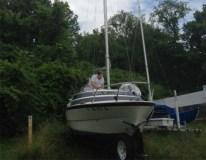 Rigged my boat