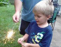 Some real sparklers between the raindrops