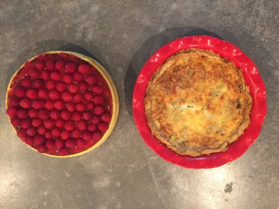 Erin Hood: I baked a cheesecake and a quiche from scratch with my day off