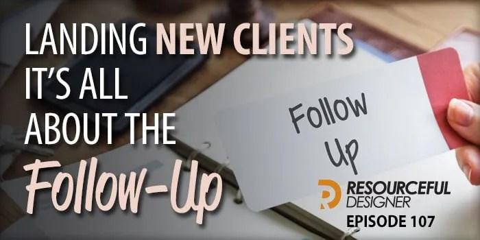 Landing New Clients, It