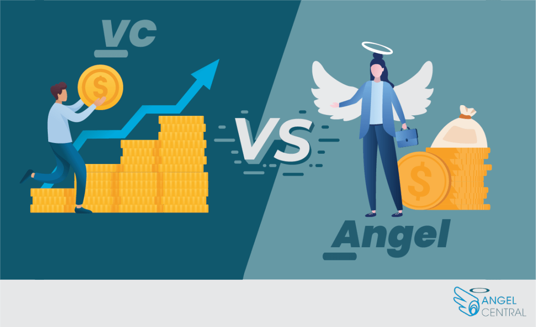 differences between venture capitalists and angel investors