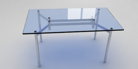 metal glass table resources free 3d